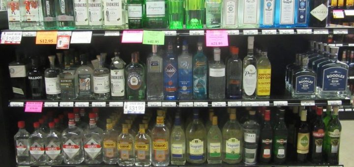 Джин тоник алкоголь градусы