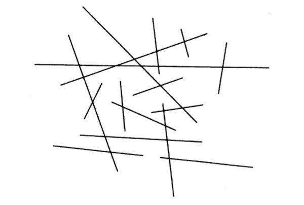 Сколько линий на треугольнике