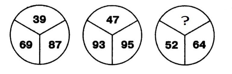 Какое число нужно поставить на место вопросительного знака?