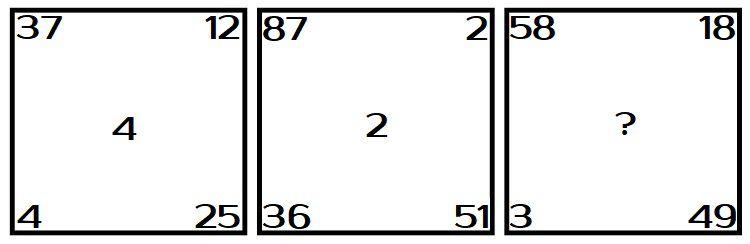 Какое число нужно поставить на место вопросительного знака