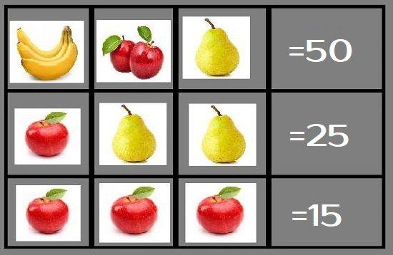 Определите сколько в рублей стоит 1 банан