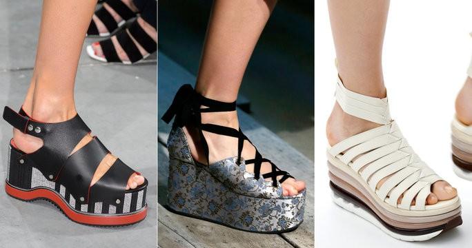 Главные модные тенденции моды на обувь 2017