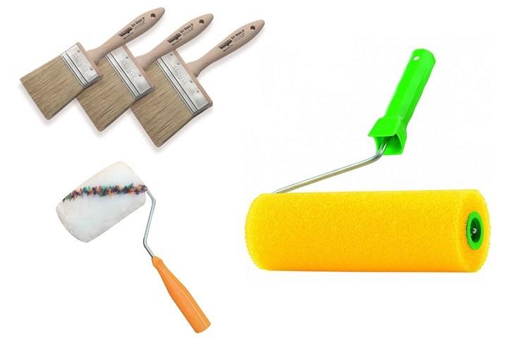 Инструменты для покраски деревянного забора