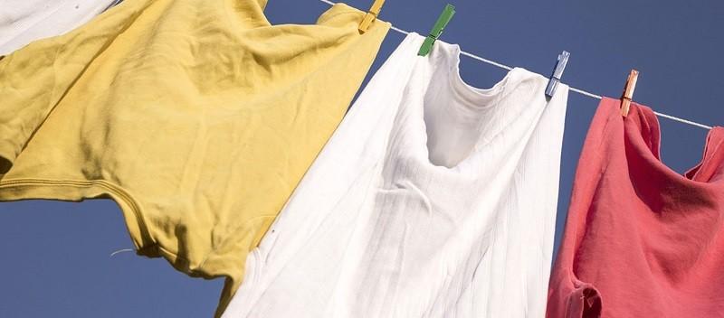 Проветривание вещей на свежем воздухе поможет избавиться от запаха плесени