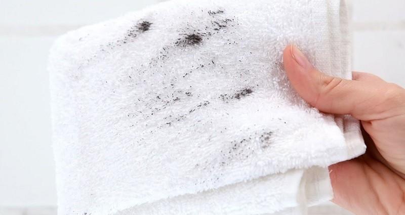 Плесень на полотенце