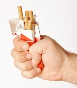 Сигареты и другие токсины наносят вред легким