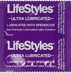 Презервативы со спермицидом