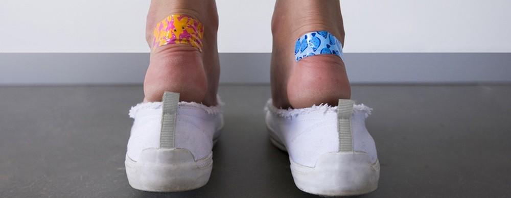 Волдыри на ногах, профилактика