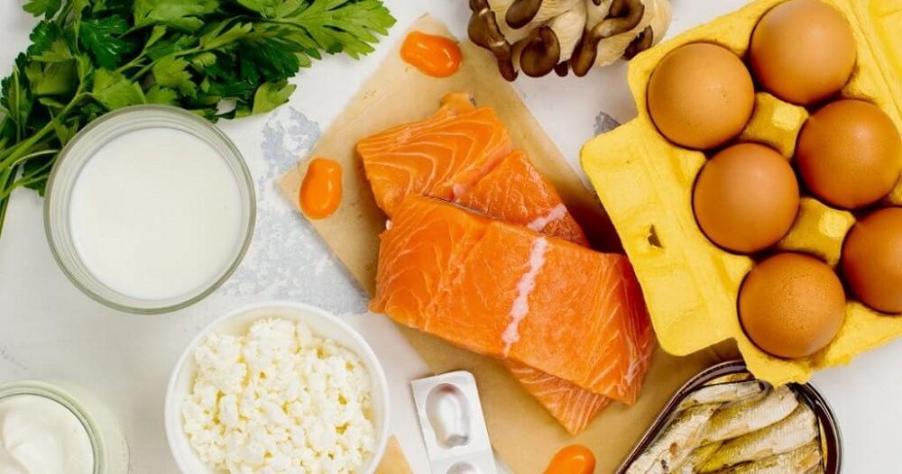 Продукты где содержится витамин D