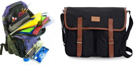 Что лучше сумка или рюкзак в школу для ребенка?