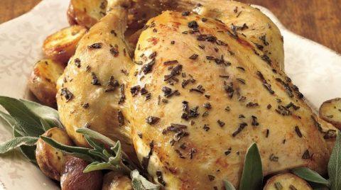 Как вкусно приготовить курицу в духовке — рецепт