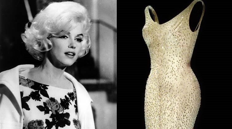 Платье М. Монро, в котором она пела на 45-летии Кеннеди