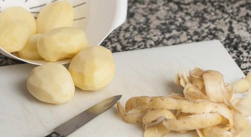 Шкурки картофеля