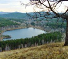 Загадочное Пустое озеро в Сибири (Кемеровская область)